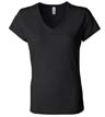 B6005A - Ladies' Jersey V-Neck Tee