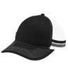 C113 - Two-Stripe Snapback Trucker Cap
