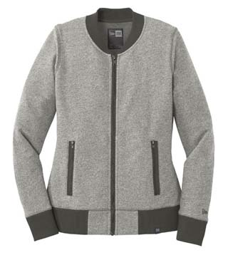 Ladies' French Terry Baseball Full-Zip